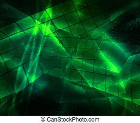 מופשט ירוק, טק, רקע