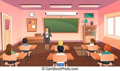 מורה של סוג, תלמידים