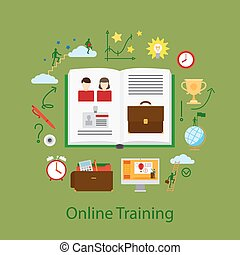 מושג, חינוך, webinar, אונליין