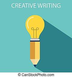 מושג, יצירתי כותב