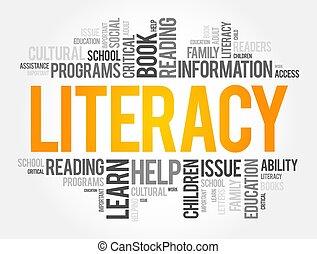 מושג, מילה, ידיע קרוא וכתוב, ענן, קולז', חינוך