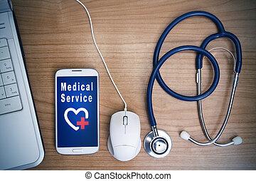 מושג, של, טכנולוגיה רפואית