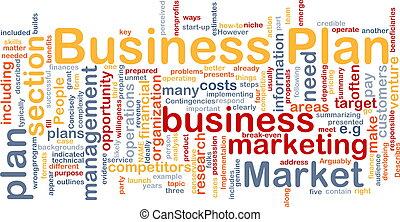 מושג של עסק, התכנן, רקע