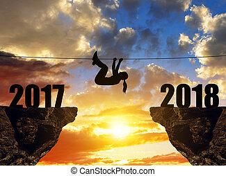 מטפס, מטייל, 2018., ראש שנה