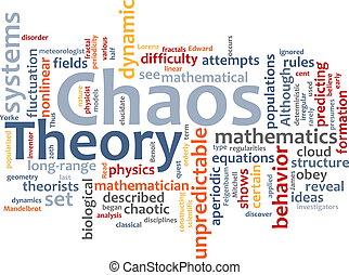 מילה, כאוס, ענן, תאוריה
