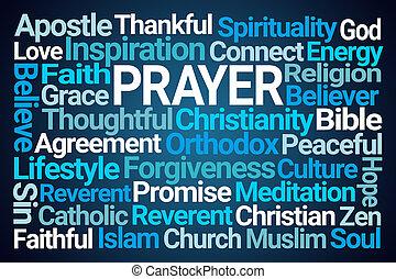 מילה, ענן, תפילה