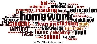 מילה, שיעורי בית, ענן