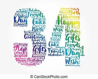מילה, 34th, ענן, יום הולדת, שמח