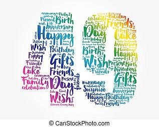 מילה, 49th, ענן, יום הולדת, שמח