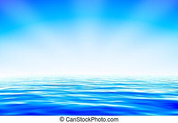 מים כחולים
