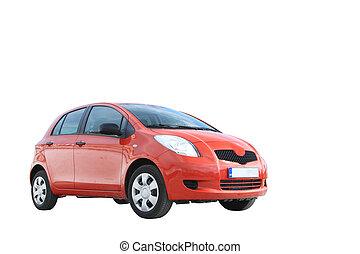 מכונית אדומה, הפרד