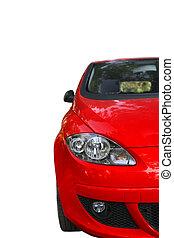 מכונית אדומה