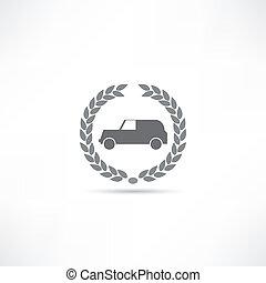 מכונית, איקון