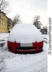 מכונית, ב, חורף