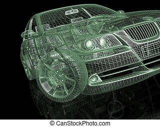 מכונית, דגמן
