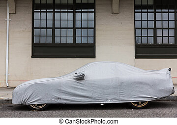 מכונית, הגנה, כסה