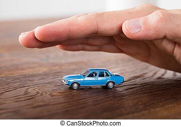 מכונית, הגנה, מושג