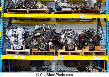 מכונית, מיכשולים של מנוע