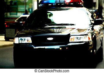 מכונית של משטרה, ב*מסמן