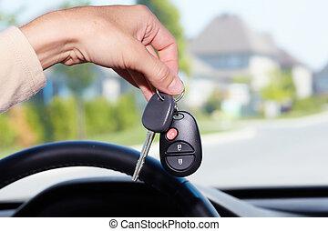 מכונית, keys.