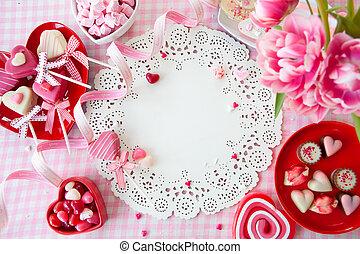 ממתקים, פרחים, טעים מאוד, טרי