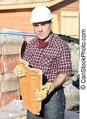 מנהל עבודה, אתר של בניה