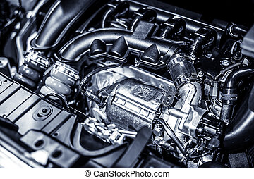 מנוע, מכונית