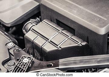 מנוע של מכונית