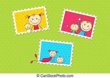 מסגרת של צילום, ילדים