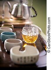 מסורתי, טקס של תה