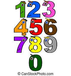 מספרים, שמח
