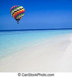 מעל, הבלט, חם, ים, balloon, טייל