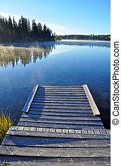 מעץ, הספן, אגם