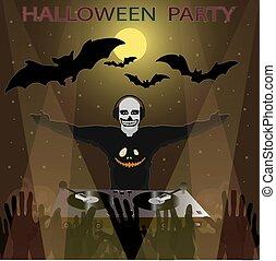 מפלגה, halloween.
