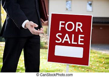 מפתחות, ל, בית, למכירה
