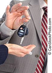 מפתח של מכונית