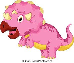 מצחיק, ציור היתולי, דינוזאור