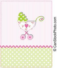 מקלחת של תינוק, כרטיס