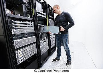 מקצועי, זה, לעבוד, datacenter