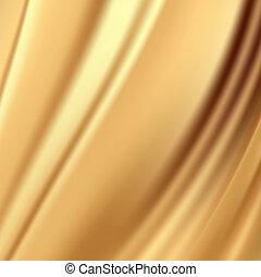 משי, רקעים, זהב