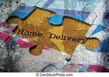 משלוח, בית, בלבל, מושג