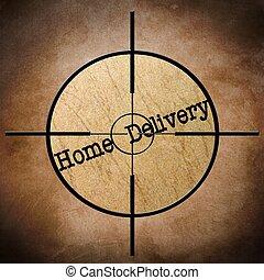 משלוח, בית, כוון