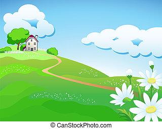 מתוק, בית של ארץ