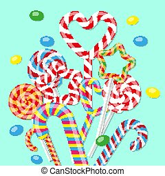 מתוק, ממתק, ב, ה, עצב, של, heart., עצב, ל, שלך, אתר אינטרנט, או, advertising., וקטור