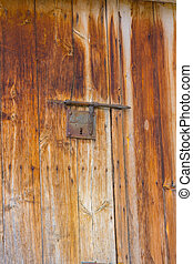 מתכת, דלת, רקע