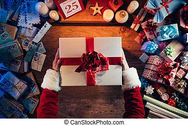 מתנה של חג ההמולד