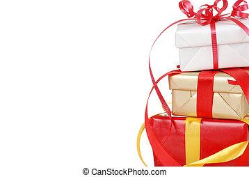 מתנות, הפרד, חג המולד