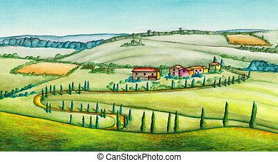 נוף כפרי