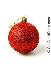 נורת חשמל, חג המולד, אדום