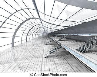 נמל תעופה, אדריכלות